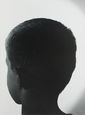 """<em>Lloyd's Head,</em> 1944<br />Gelatin silver print<br />Image: 12 7/8 x 9 1/2""""; Mount: 19 x 15"""""""