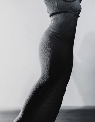 "<em>Martha Graham - Extasis-Torso,</em> 1935, printed 1971<br />Gelatin silver print<br />Image: 18 5/8 x 14""; Mount: 27 x 22"""