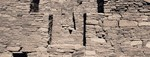 <em>Chaco Canyon, New Mexico</em>, 1999<br>Toned and waxed gelatin silver print
