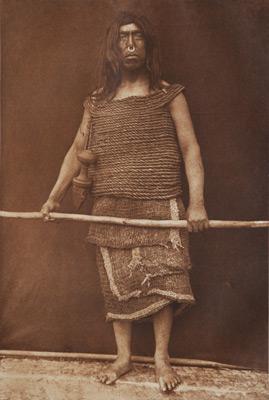 "<em>Nakoaktok Warrior,</em>1914<br />Photogravure<br />Image: 7 3/4 x 5 1/4""; Paper: 12 1/2 x 9 1/2"""