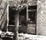 "<em>Barber Shop, Mesilla, New Mexico</em>, 1940<br />Gelatin silver print<br />Image: 8 x 10""; Mount: 15 x 18"""