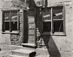 "<em>Cafe Algodones, New Mexico</em>, 1947<br />Gelatin silver print<br />Image: 8 x 10""; Mount: 15 x 20"""