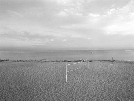 <em>Cape Cod (Volleyball Net),</em> 1972<br />Gelatin silver print<br />SOLD