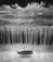 <em>Untitled (Boat in waterfall)</em>, 1997<br>Gelatin sliver print