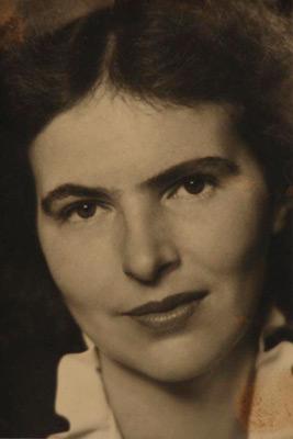 <em>Nancy Newhall</em>, nd<br>Vintage gelatin silver print</br>Image/Paper: 3 3/4 x 2 9/16