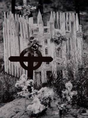 """<em>El Valle, New Mexico,</em>1986<br />Gelatin silver print<br />Image/Paper: 6 1/2 x 5"""""""