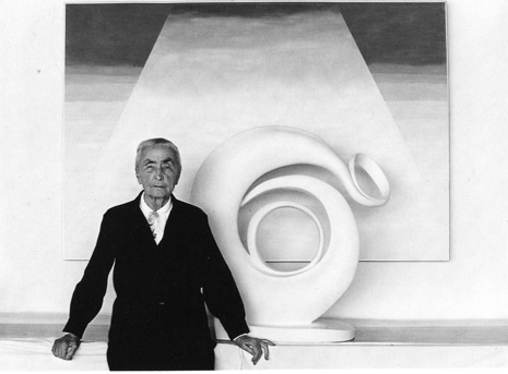 "<em>Miss O'Keeffe, Abiquiu, New Mexico</em>, 1980<br>Gelatin silver print</br>Image: 7 1/2 x 9 3/8""; Mount: 14 x 17"""