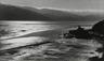 """<em>Tamales Bay</em>, 1937<br>Gelatin silver print</br>Image: 5 3/4 x 9 3/16""""; Mount: 14 x 17"""""""