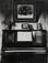 "<em>Virginia City Interior</em>, c. 1933<br>Gelatin silver print</br>Image: 9 1/2 x 7 1/2""; Mount: 17 x 14"""