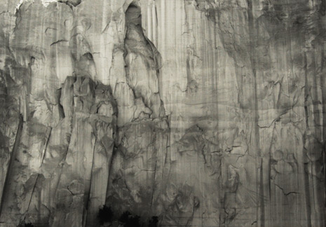 "<em>Enchanted Mesa, New Mexico,</em>1975<br />Gelatin silver print<br />Image: 13 1/2 x 19 1/4""; Mount: 20 x 28"""