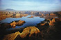 "William Garnett<br><em>Lake Powell, Arizona, Utah,</em>1967<br />Cibachrome print<br/>Image: 12 3/4 x 19 1/4""; Paper: 20 x 24"""