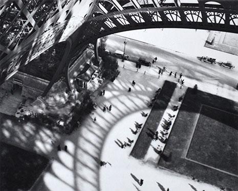 <em>Eiffel Tower</em>, 1929<br>Gelatin silver print