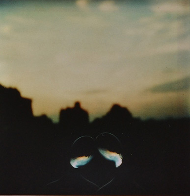 <em>Untitled (Two Heads - pl 52)</em>, 1979 </br>Cibachrome print from a Polaroid