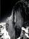 "Ansel Adams</br><em>Monolith, the Face of Half Dome,</em> 1927<br>Gelatin silver print</br>Image: 11 x 8 1/8""; Mount: 17 1/4 x 14"""