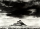 "William Clift</br><em>Factory Butte, Utah,</em> 1975<br>Gelatin silver print</br>Image: 13 3/8 x 18 7/8""; Mount: 20 x 28"""
